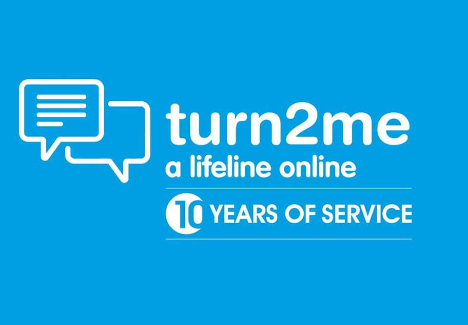 Turn2me celebrates 10th Birthday and joins forces with ReachOut Ireland