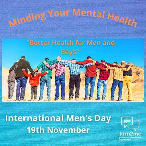 Minding your mental health this International Men's Day!
